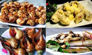 Ốc - món ăn vặt làm nên thương hiệu ẩm thực Sài Gòn