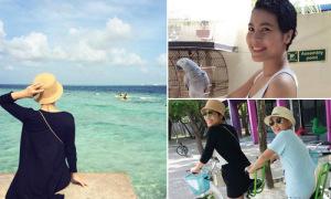 Chuyến đi Maldives trong mơ của mẹ đơn thân ung thư và con trai