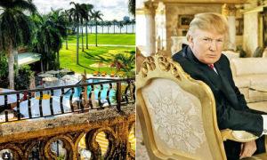 Khu nghỉ xa hoa bên bờ biển của ông Donald Trump