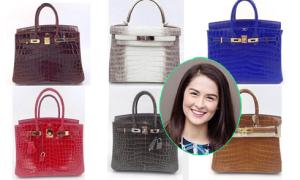 Kho túi Hermes đồ sộ của 'mỹ nhân đẹp nhất Philippines'