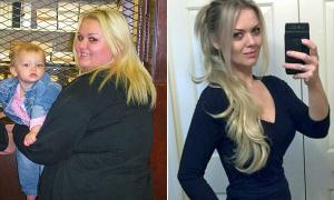 Giảm hơn 60 kg sau khi bị bạn trai chế giễu vì quá béo
