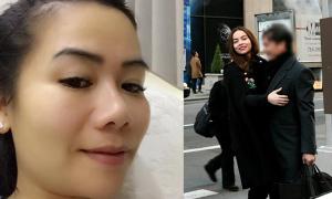 Vợ Chu Đăng Khoa lên tiếng sau khi chồng lộ ảnh hẹn hò Hà Hồ ở Mỹ