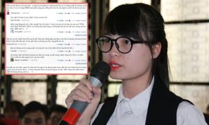 Nữ sinh muốn lương 2.000 USD: 'Mình không đẹp, không giỏi nhưng dám đặt câu hỏi'