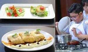 Top 6 vua đầu bếp Việt nhí làm thức ăn với trái cây