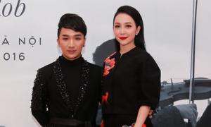 Linh Nga bay ra Hà Nội ủng hộ nghệ sĩ violin Hoàng Rob