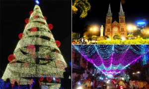 Những điểm vui chơi Giáng sinh hấp dẫn ở Sài Gòn