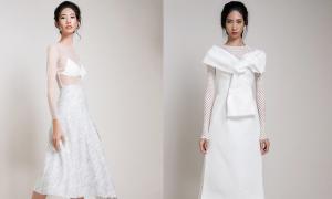 Những kiểu váy trắng với biến tấu ấn tượng và độc đáo