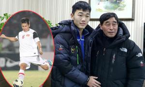 Thầy của Park Ji Sung gửi thư mời hậu vệ HAGL sang Hàn thi đấu