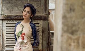 Các mẫu váy áo cho nàng mê đồ thêu tay