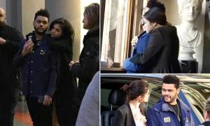 Selena Gomez không ngừng ôm ấp bạn trai mới ở Rome