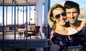 Djokovic mua hai căn hộ hạng sang ở New York