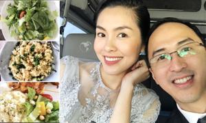 Chồng Hà Tăng khoe tài nấu nướng của vợ