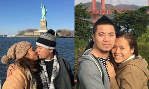 Chuyến đi Mỹ nhiều kỷ niệm của vợ chồng Thanh Nhân - Wang Trần