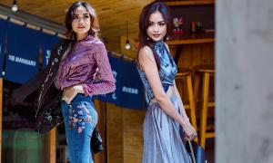 Ngọc Châu ấn tượng với street style mới