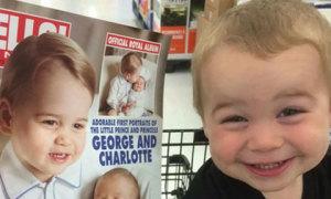 Những em bé không phải con đẻ nhưng giống hệt người nổi tiếng