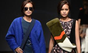 Ngọc Châu ấn tượng trên sàn diễn Seoul Fashion Week