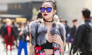Sella Trương 'lột xác' với phong cách cá tính tại Seoul Fashion Week
