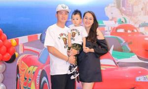 Ngọc Thạch mừng sinh nhật 2 tuổi cho con trai ở khách sạn 5 sao