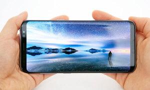 Những ưu điểm của màn hình vô cực trên Galaxy S8
