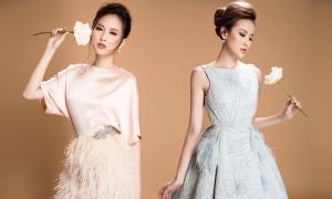Khánh Ngân điệu đà cùng váy công chúa