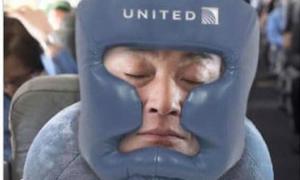 Ảnh chế vụ hành khách gốc Việt bị lôi khỏi máy bay United Airlines