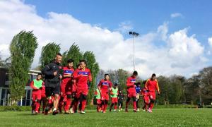 U20 Việt Nam tập buổi đầu tiên sau khi ổn định ăn ở tại Đức
