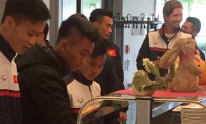U20 Việt Nam tập nặng, ăn ngon tại Đức