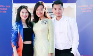 Ngọc Thanh Tâm, Hồng Ánh quảng bá điện ảnh Việt Nam tại Cannes