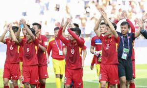 U20 Việt Nam cảm ơn và chia tay người hâm mộ ở Hàn Quốc