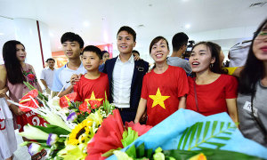 U20 Việt Nam trở về sau hành trình lịch sử ở giải thế giới