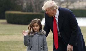 Cháu ngoại Tổng thống Trump ước mơ thành lính thủy đánh bộ