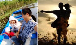 Hành trình xuyên Việt 60 ngày của cô bé 2 tuổi cùng bố mẹ