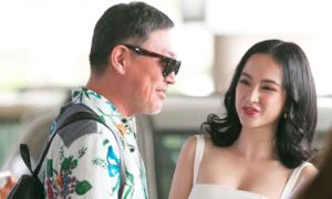 Angela Phương Trinh gặp lại nhà sản xuất phim 'Mùi ngò gai' sau 11 năm