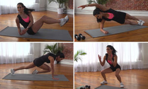 9 phút tập luyện mỗi ngày cho vòng eo phẳng lỳ