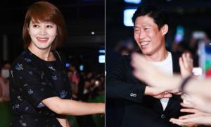 'Mỹ nhân không tuổi' Kim Hye Soo xinh tươi tới ủng hộ phim của tình cũ