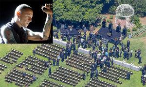 Âm nhạc tràn ngập trong tang lễ thủ lĩnh Linkin Park
