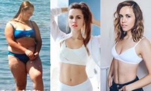 Nàng béo 105 kg 'lột xác' thành hot blogger sau khi giảm cân