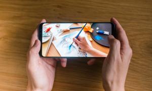 Ảnh động vô cực 'hút' người dùng Galaxy S8