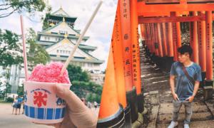 Cuộc dạo chơi Kyoto - Osaka lãng mạn ngày cuối hạ đầu thu