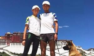 Cặp uyên ương chạy vòng quanh Trung Quốc suốt 150 ngày vì tình yêu