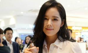 'Mỹ nhân mặt mộc đẹp nhất xứ Hàn' Han Ga In hiếm hoi lộ diện