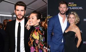 Miley Cyrus đến dự lễ ra mắt phim của anh chồng tương lai