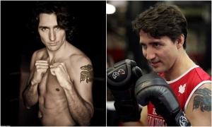 Thủ tướng Canada sở hữu cơ bắp vạm vỡ nhờ chăm tập quyền Anh