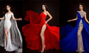 3 bộ trang phục dạ hội của Đỗ Mỹ Linh ở Miss World