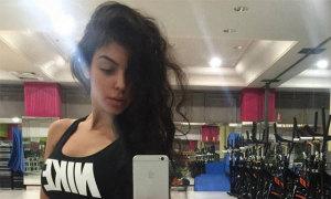 Bạn gái C. Ronaldo gây tranh cãi vì đến phòng tập gym 8 ngày sau khi sinh