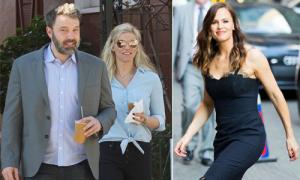 Ben Affleck giới thiệu bạn gái mới với vợ cũ