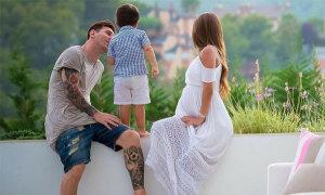 Messi, C. Ronaldo và loạt sao bóng đá háo hức với những đứa con chào đời