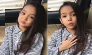 Bé 6 tuổi 'diễn sâu' khi hát 'Sống xa anh chẳng dễ dàng'