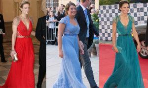 10 lần mặc váy áo 'đụng hàng' của các thành viên Hoàng gia châu Âu