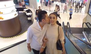 Vợ chồng Lâm Khánh Chi đi sắm sửa cho tổ ấm